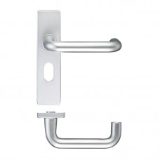 RTD 19mm Dia Oval Door Handle Lock 44 x 178mm SA