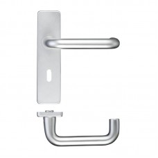 RTD 19mm Dia Lock Door Handle 44 x 178mm SA