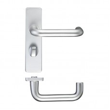 RTD 19mm Dia Bathroom Door Handle 44 x 178mm SA