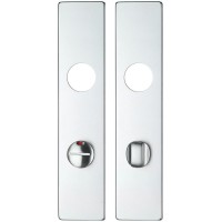 ZAAILP Long Door Handle Cover Plate Bathroom 78mm C/C SA