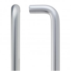 Zoo Hardware - D  Shaped Door Pull Handle 19mm Dia. x 425mm SA - ZAAD425BSA