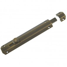Zoo Hardware - Surface Door Bolt 202mm FB - ZAB100CFB