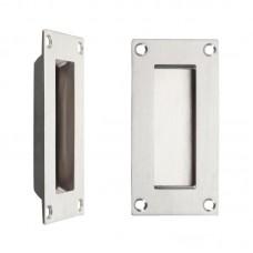 Zoo Hardware - Flush Door Pull Rectangular 50 x 100mm SS - ZAS10SS
