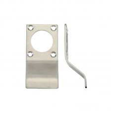 Cylinder Latch Door Pull Round Profile 43 x 88mm SS