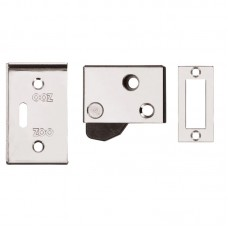 Hush Door Latch 65 x 40mm CP