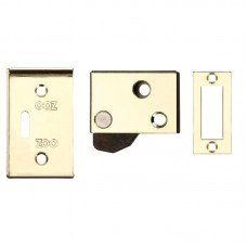 Zoo Hardware - Hush Door Latch 65 x 40mm EB - ZAS21EB