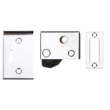 Hush Door Latch 65 x 40mm PCW