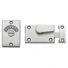 Zoo Hardware - Toilet Door Lock and Indicator SS - ZAS25SS