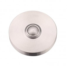 Foxcote Foundries - Door Bell Push 51mm Dia SS - ZAS39SS