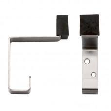 Zoo Hardware - Hat & Coat Door Hook with Rubber SS - ZAS77SS