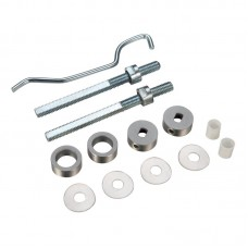 Zoo Hardware - Back to Back Door Handle Fixings To suit Pull Handles 30mm Dia SS - ZBBF25SS