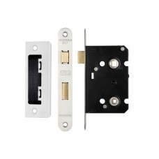 Bathroom Door Lock 64mm Case 44.5mm Bkst - Radius SS