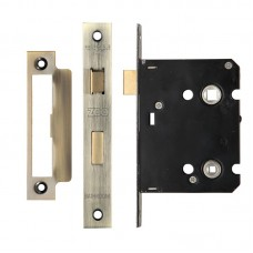Zoo Hardware - Bathroom Door Lock 76mm Case 57mm Bkst FB - ZBC76FB
