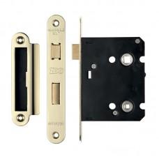 Bathroom Door Lock 76mm Case 57mm Bkst - Radius EB