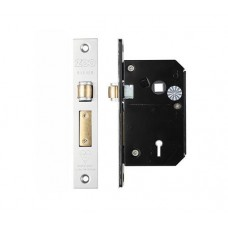 BS 5L Roller Sash Door Lock 67mm SS