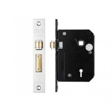 Zoo Hardware - BS 5L Roller Sash Door Lock 80mm SS - ZBSCS80SS