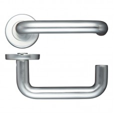 RTD Door Handle Push on Rose 19mm Dia. SA