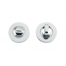 Zoo Hardware - ZCS Bathroom Turn & Release 5mm Spindle 52mm Dia. 304 PS - ZCS004PS