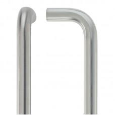 D' Pull Handle - 19mm Dia. x 225mm 201 SS