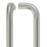 D' Pull Handle - 22mm Dia. x 600mm 201 SS