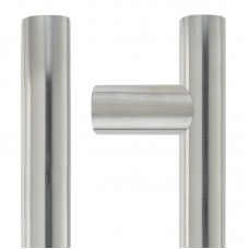 Zoo Hardware - Guardsman Door Pull Handle 30mm Dia. x 1200mm 201 SS - ZCS2G1200ES