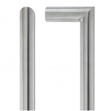 Zoo Hardware - Mitred Door Pull Handle 19mm Dia. x 425mm 201 SS - ZCS2M425BS