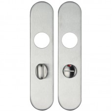 ZCSIP Handle Radius Cover Plate Bathroom 50 x 220mm 304 SS