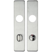 ZCSIP Handle Cover Plate Bathroom 78mm c/c 304 SS
