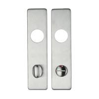ZCSIPSP Handle Cover Plate Bathroom 78mm c/c 45 x 180mm 304 SS