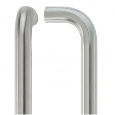 Zoo Hardware - D  Pull Handle - 22mm Dia. x 300mm 304 SS - ZCSD300CS