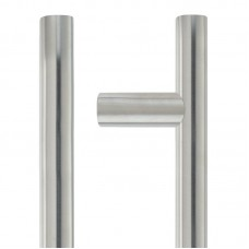 Guardsman Door Pull Handle 19mm Dia. x 300mm 304 SS