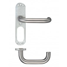 RTD 19mm Dia Lever on Short Inner Backplate 43 x 178mm 304 SS