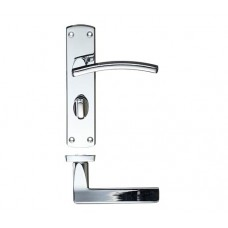 Toledo Lever Bathroom Door Handle 40 x 170mm CP