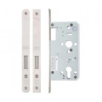 Din Euro Dead Door Lock 55mm or 60mm Bkst Forend Option