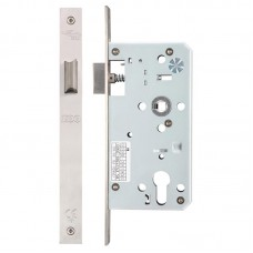 Zoo Hardware - Din Door Latch 55mm Bkst SS - ZDL0055LSS