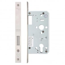 Din Euro Dead Door Lock 55mm Bkst SS