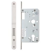 Din Euro Dead Door Lock Radius 60mm Bkst SS