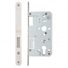 Zoo Hardware - Din Euro Dead Door Lock Radius 60mm Bkst SS - ZDL0060RSS