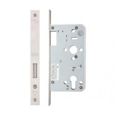Din Euro Single Throw Dead Door Lock 60mm Bkst SS