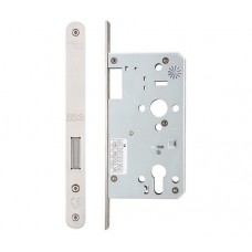 Din Euro Single Throw Dead Door Lock Radius 60mm Bkst SS