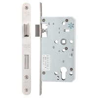 Din Escape Door Lock 72mm c/c Radius 60mm Bkst SS