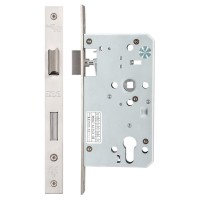 Din Escape Door Lock 72mm c/c 60mm Bkst SS