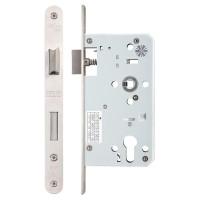 Din Euro Sash Door Lock 72mm c/c Radius 60mm Bkst SS