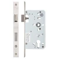Din Euro Sash Door Lock 72mm c/c 60mm Bkst SS