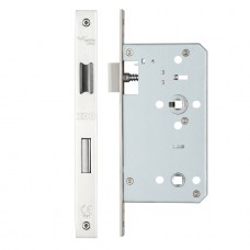 Din Bathroom Door Lock 78mm c/c 60mm PS Forend Option