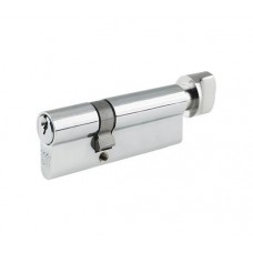 Euro Door Cylinder and Thumbturn V5 Chrome Polished