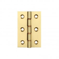 Double Phosphor Bronze Washered 76 x 50 x 2.5mm Brass Butt Hinge PB