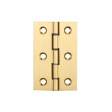 Double Phosphor Bronze 76 x 50 x 2mm Brass Butt Hinge PB