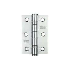 "Ball Bearing Door Hinge 3 x 2"" Steel CP"