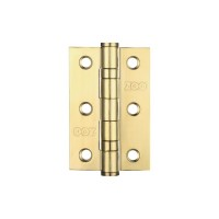 "Ball Bearing Door Hinge 3 x 2"" Grade 201 PVD Gold"